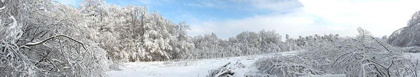 Szufnarowa zimą